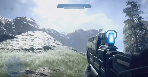 Halo PC project Installation 01 looks incredible