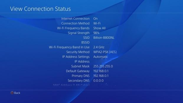 PS4 Slim supports 5GHz 802 11ac Wi-Fi