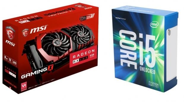 Core i5-6600K drops to $210 plus deal on Radeon RX 480