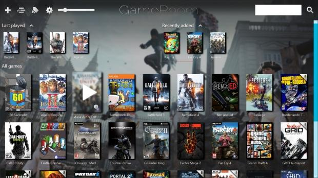 GameRoom launcher rolls your PC library into one program