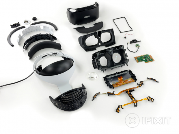 Sony's PlayStation VR is surprisingly easy to repair