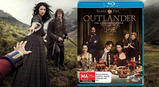 Battle to win your own 'Outlander: Season 2' Blu-ray
