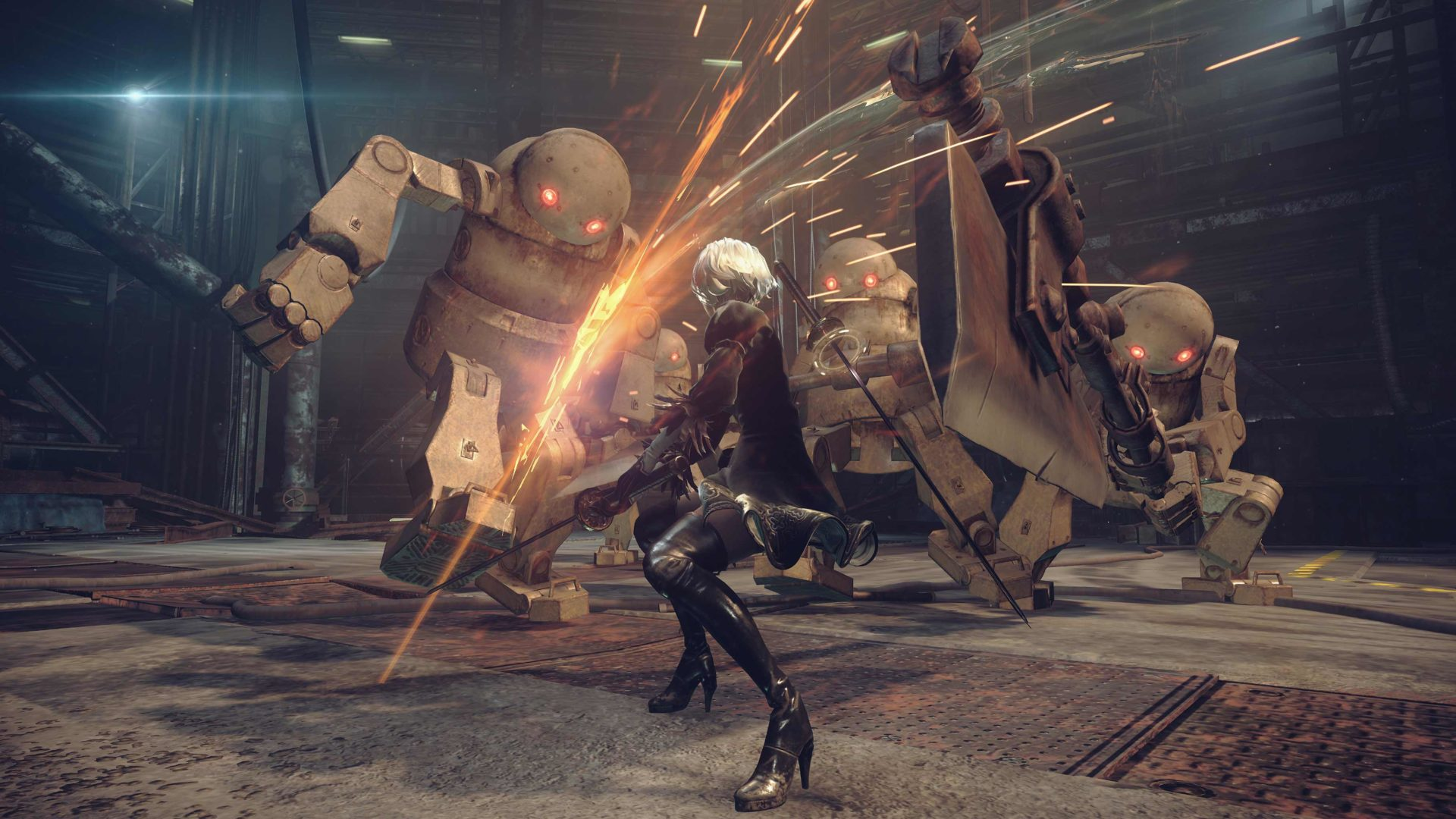 Nier Automata: 900p 60FPS on PS4, 1080p 60FPS on PS4 Pro
