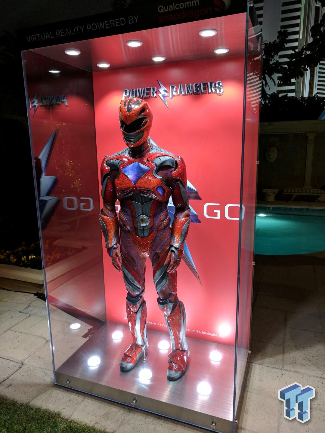 Qualcomm, Power Rangers, and VR - quite the mix