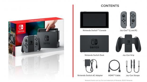 Nintendo Switch hardware specs revealed