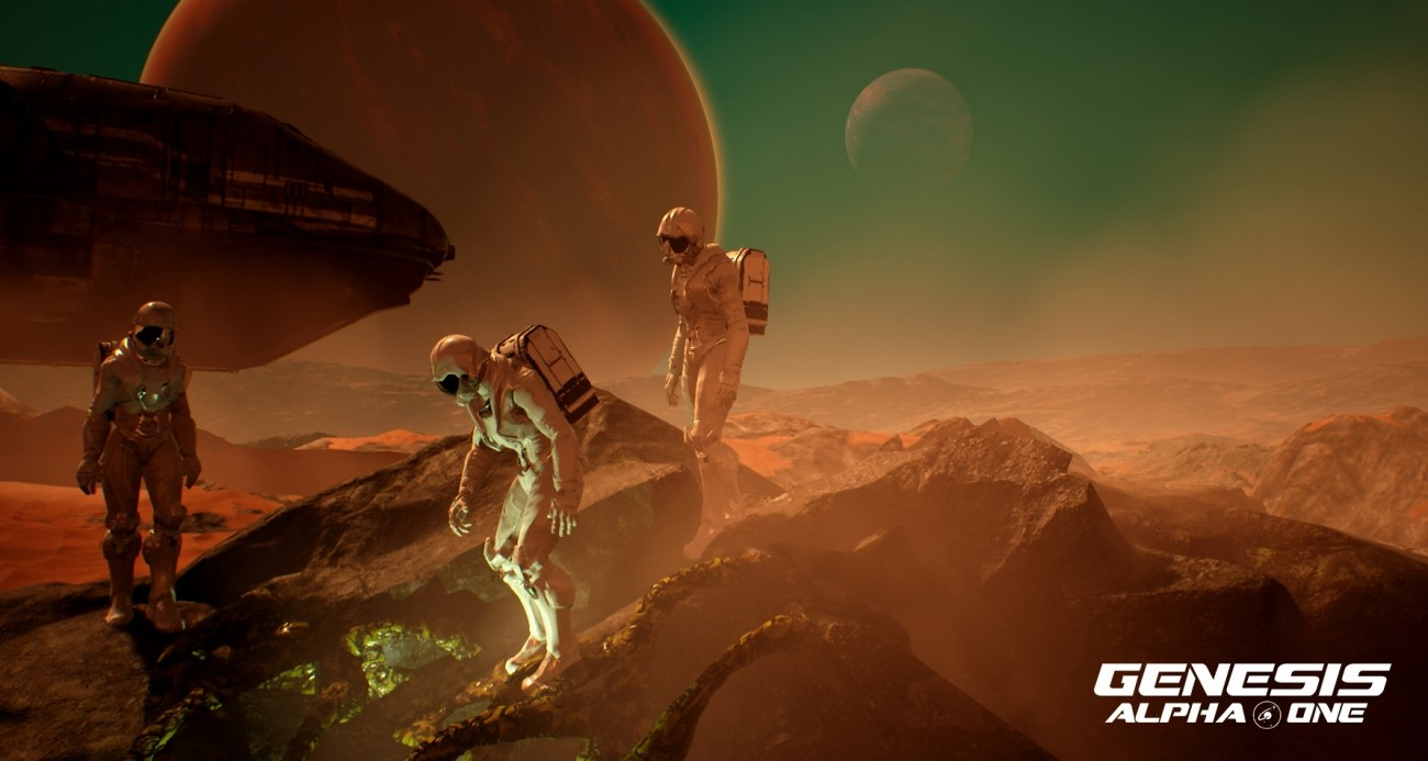 Genesis Alpha One is the 80s sci-fi game I always wanted