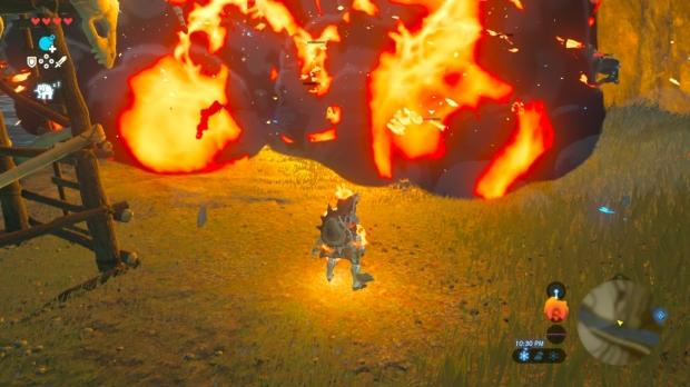 You don't need weapons to kill enemies in Zelda BOTW
