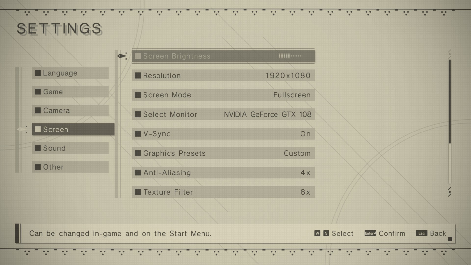 Nier Automata supports 21:9 on PC, but has 60FPS lock