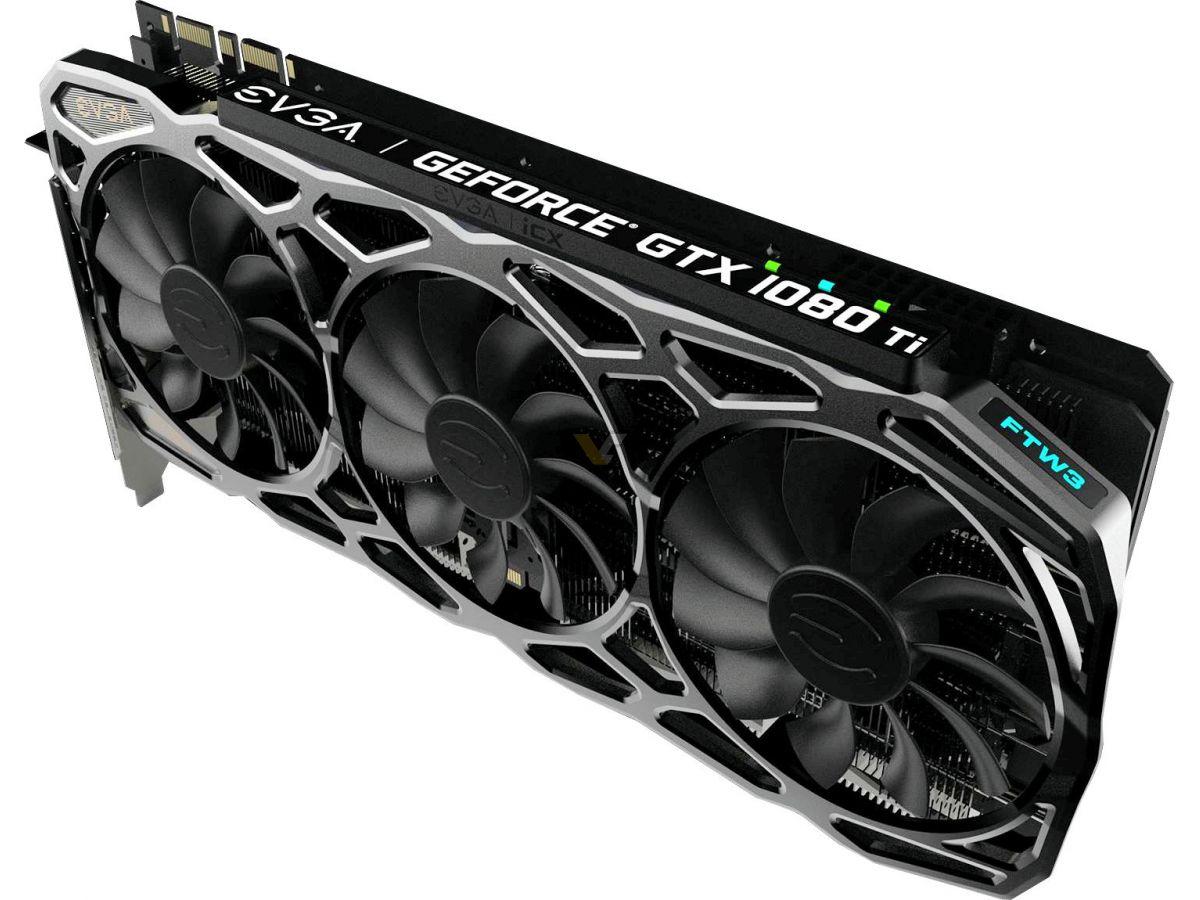 EVGA unveils GTX 1080 Ti SC, SC2, and FTW3 variants