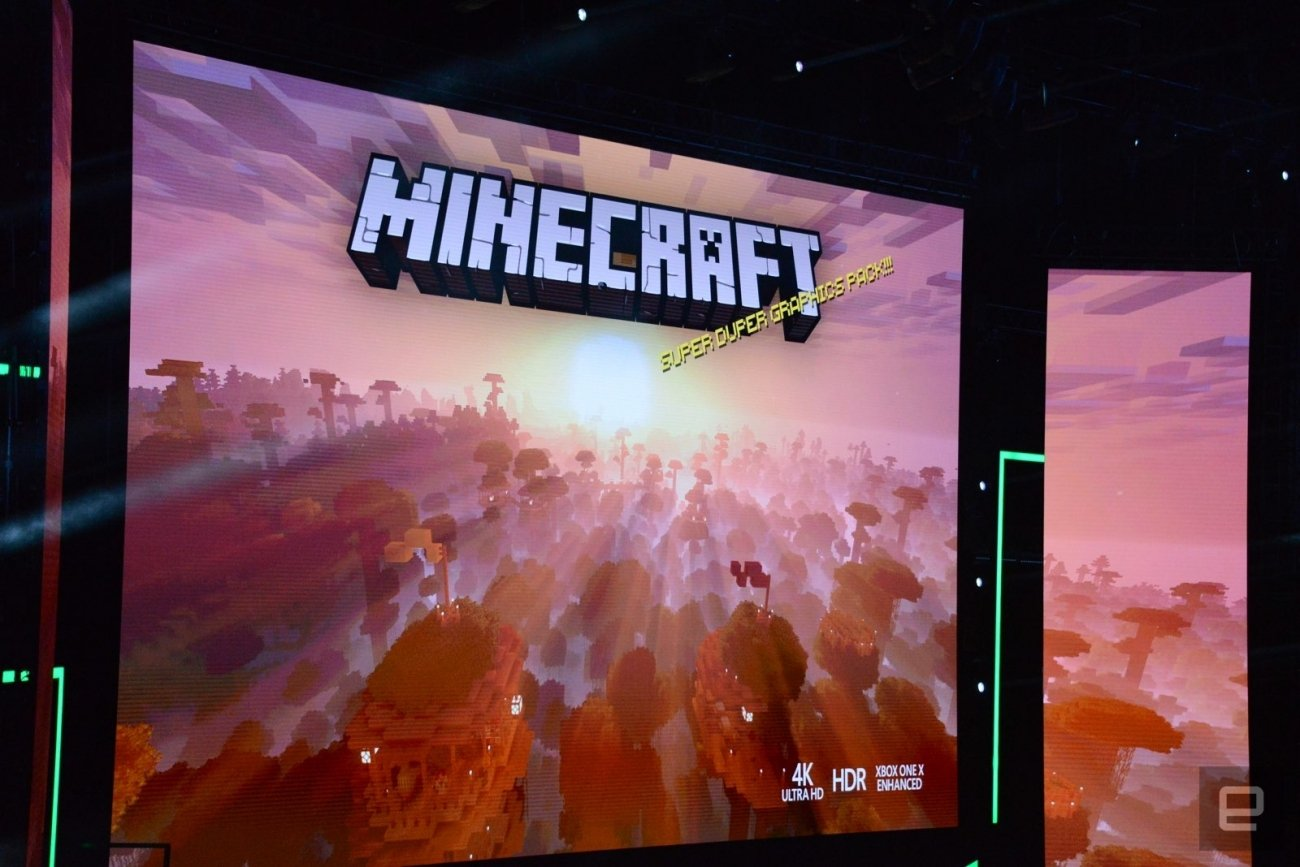 Minecraft to get 'Super Duper' 4K graphics on Xbox One X