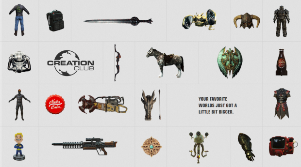 Bethesda's Creation Club is more like DLC than paid mods