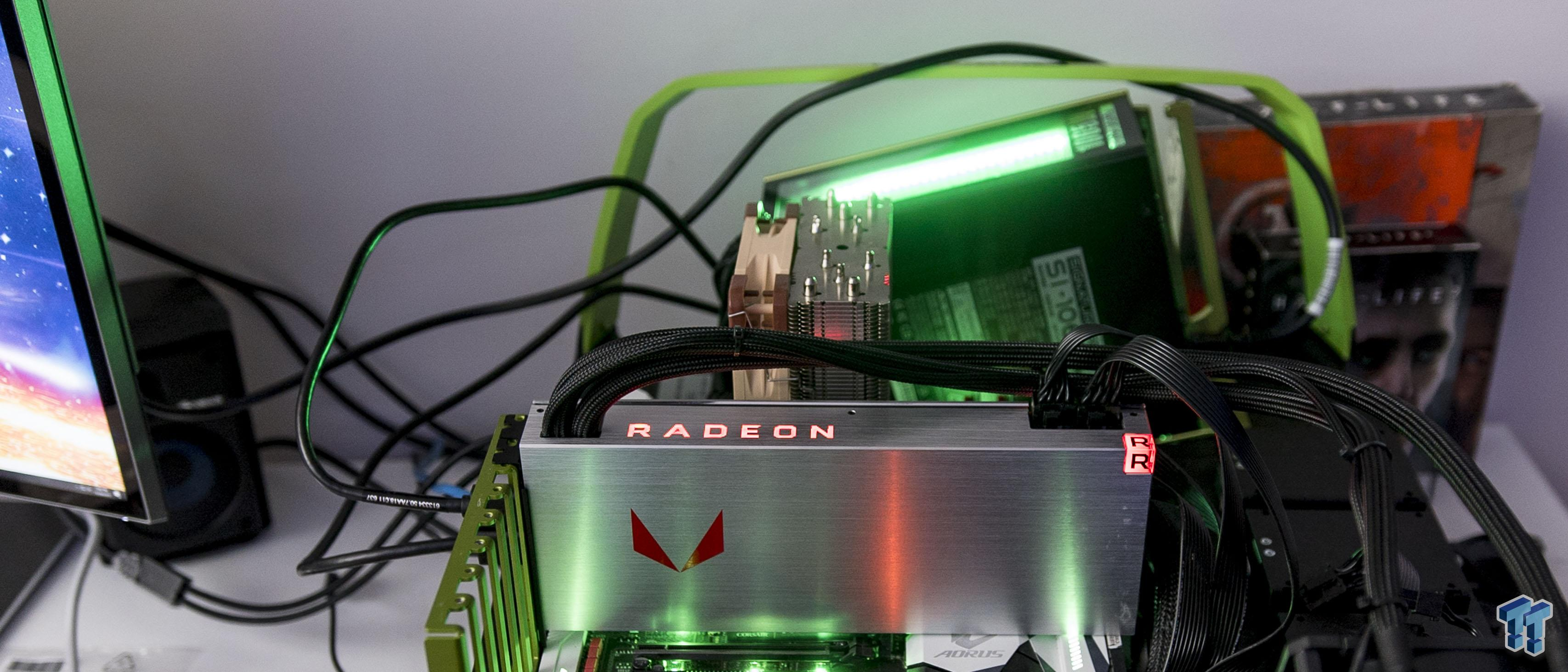 Amd Radeon Rx Vega 64 Liquid Cooled Edition Unboxed Tweaktown