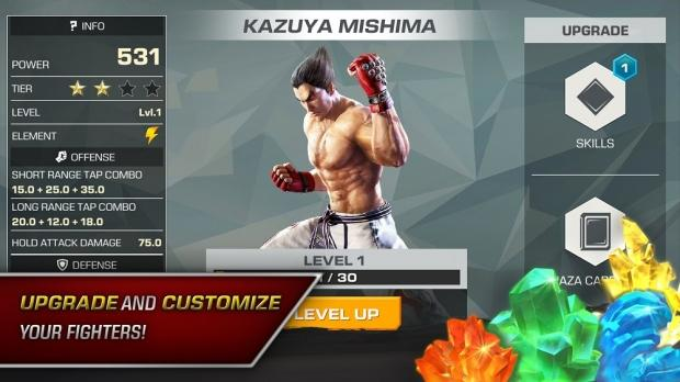 Tekken 7 mobile game to feature microtransactions galore