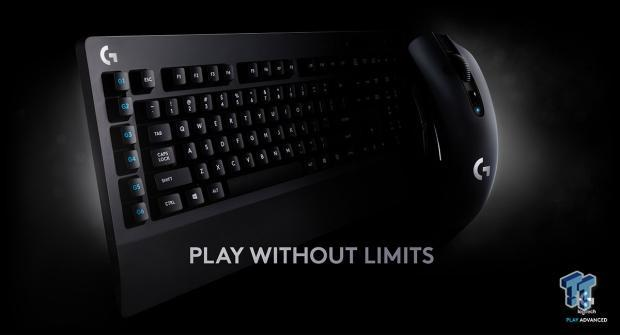 Logitech unveil the wireless G613 keyboard & G603 mouse