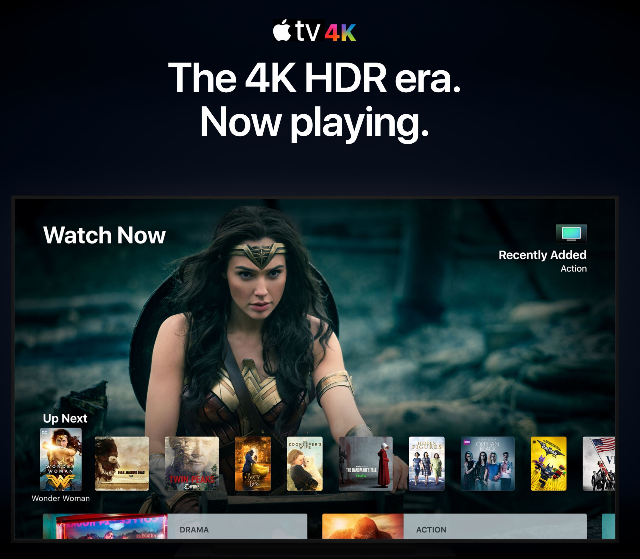 Apple TV 4K announced, 4K content costs the same as HD