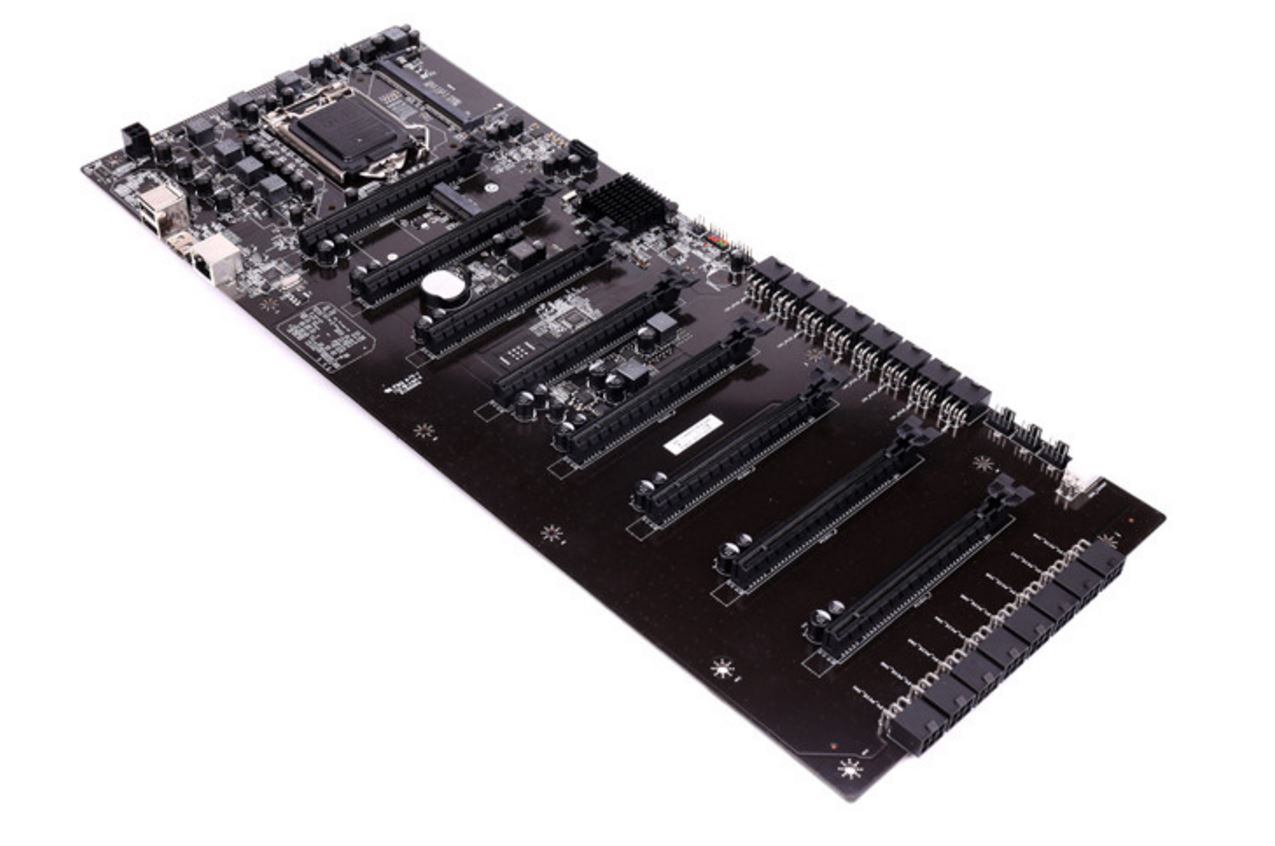 Colorful's new mining motherboard has 8 x PCIe x16 slots