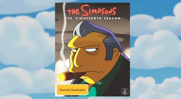The Simpsons Christmas Dvd.Win A Simpsons Season 18 Dvd For Christmas