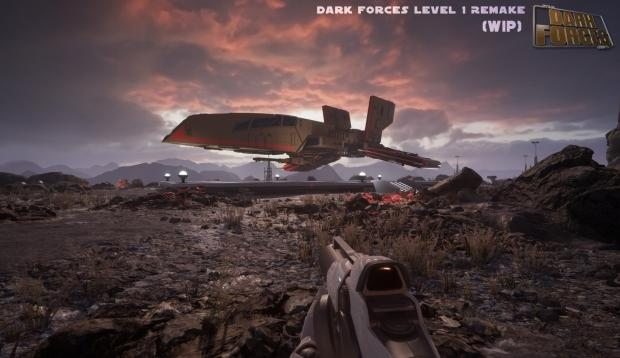 Star Wars: Dark Forces looks AMAZING in Unreal Engine 4