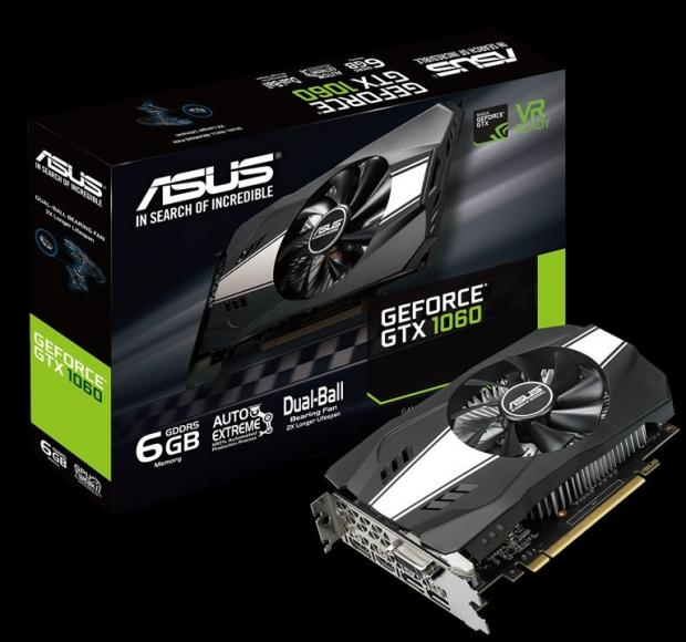 ASUS unveils new GeForce GTX 1060 6GB Phoenix graphics card
