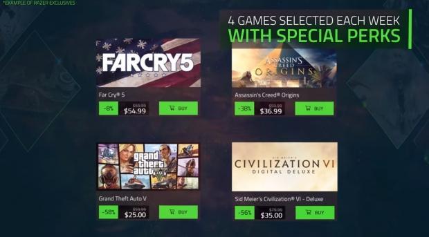 Razer is now selling digital PC games