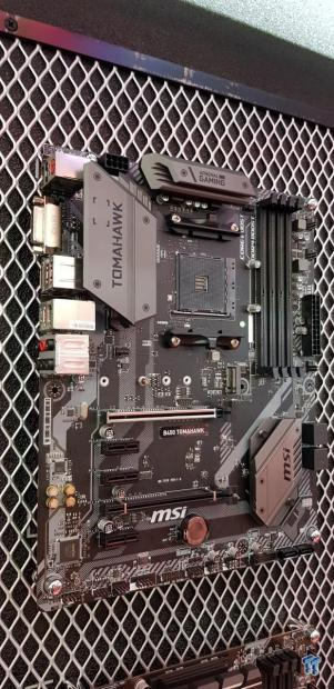 MSI's new B450 TOMAHAWK motherboard spotted