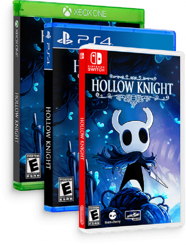 Team Cherry announces Hollow Knight physical copy release