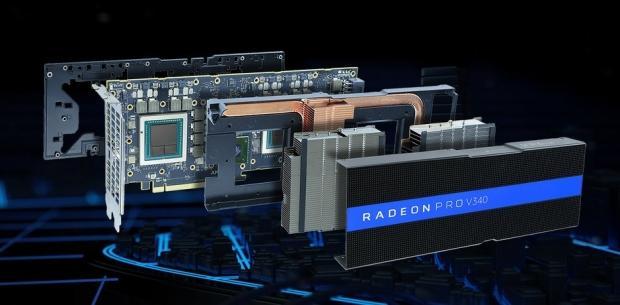 AMD unveils dual-Vega GPU card: 32GB HBM2, passively cooled