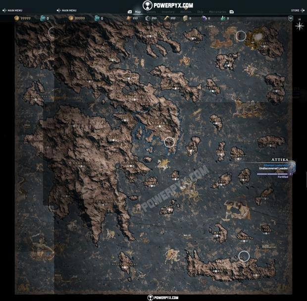 Assassin S Creed Odyssey Map Shown 62 Bigger Than Origins