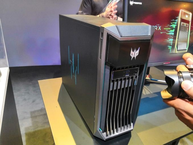 Acer Predator X: dual Xeon CPUs, dual Quadro RTX 8000, $50K+