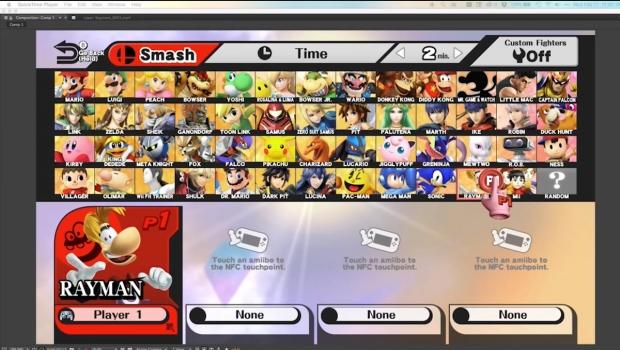 Rayman doesn't come to Smash Ultimate, instead Brawlhalla