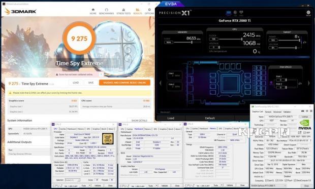GeForce RTX 2080 Ti FE OC: 2 4GHz GPU, 17Gbps GDDR6 on LN2