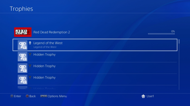 Red Dead Redemption 2 PS4 Trophy list leaked, 53 in total