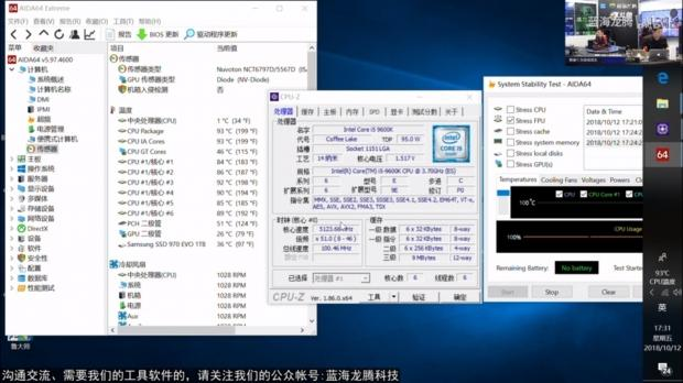 Intel Core i5-9600K: 6C/6T overclocks up to 5 2GHz on air