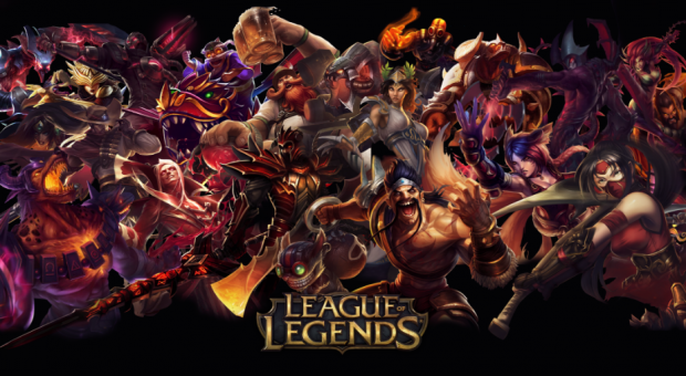 League of Legends is 26 42% of global gaming traffic share