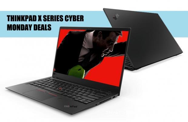 Cyber Monday 35% coupon: ThinkPad X1 Carbon, X1 Yoga, X280