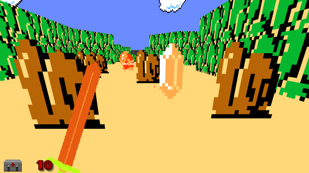 Zelda NES gets reborn in Doom