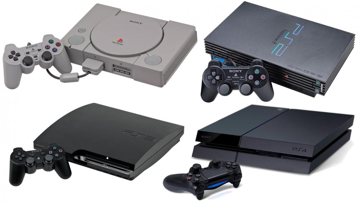 PS5 patent teases PS1, PS2, PS3, PS4 backwards compatibility ...