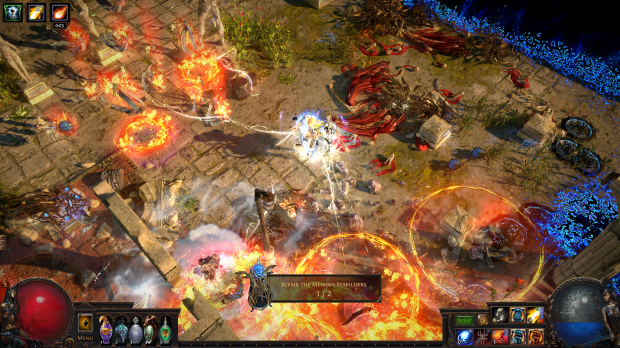 Path of Exile PS4 release set for March 8