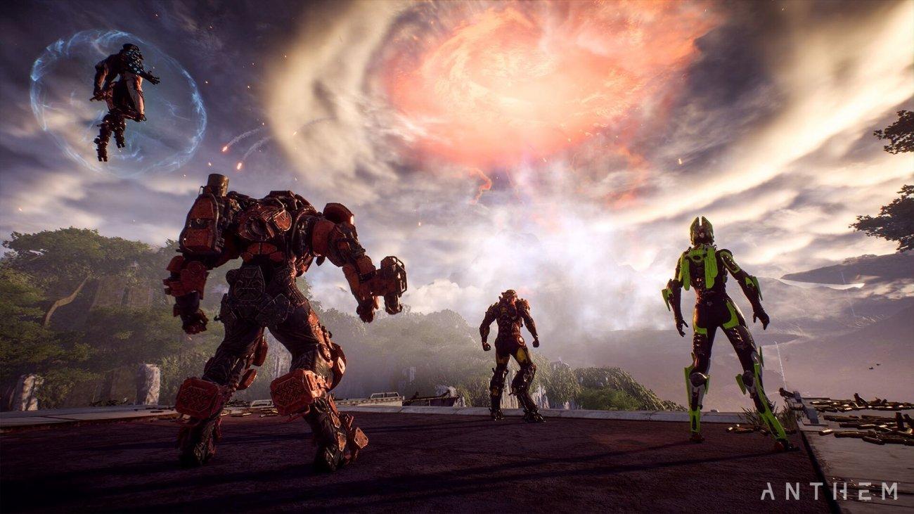 Anthem hits native 4K on Xbox One X