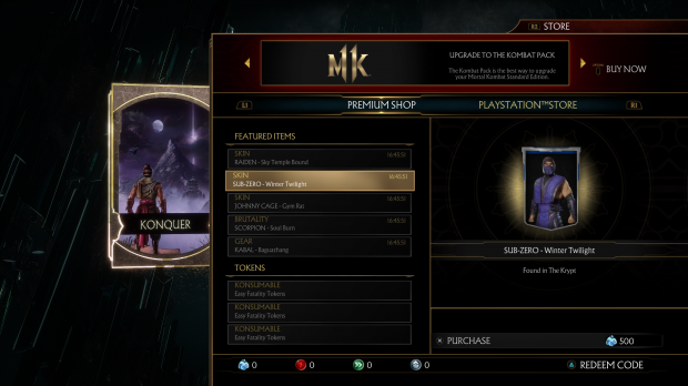 Buying every Mortal Kombat 11 skin costs $6,440