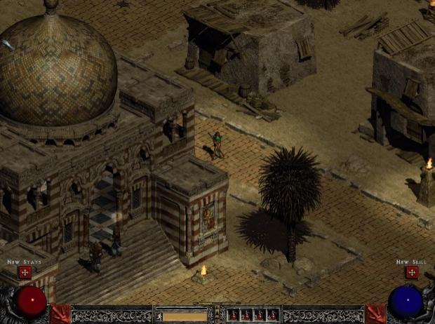 Diablo 2 remaster with AI upscaling looks DEVILISHLY good