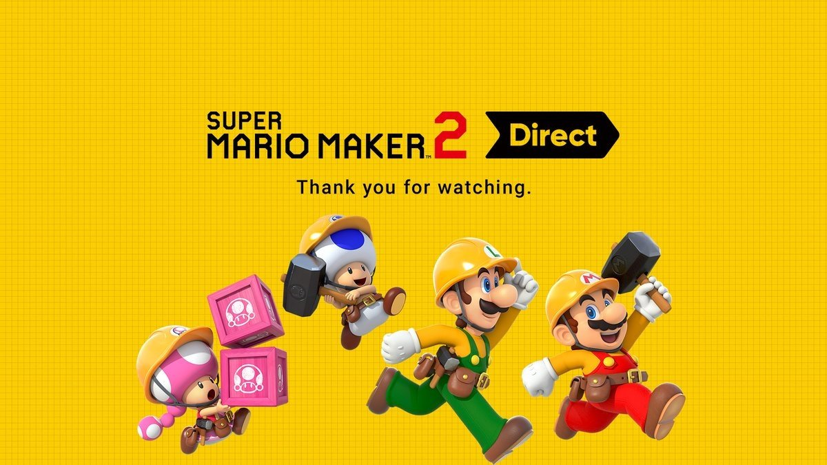 Super Mario Maker 2 is more ambitious than first expected