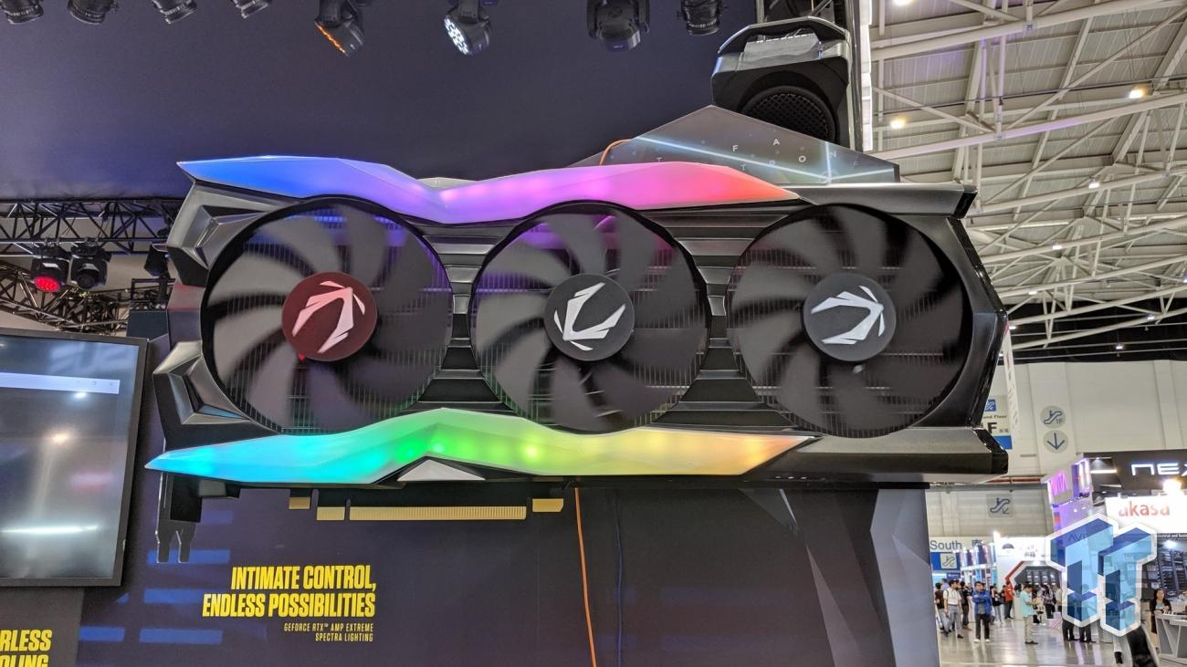 ZOTAC shows off the world's largest graphics card EVER