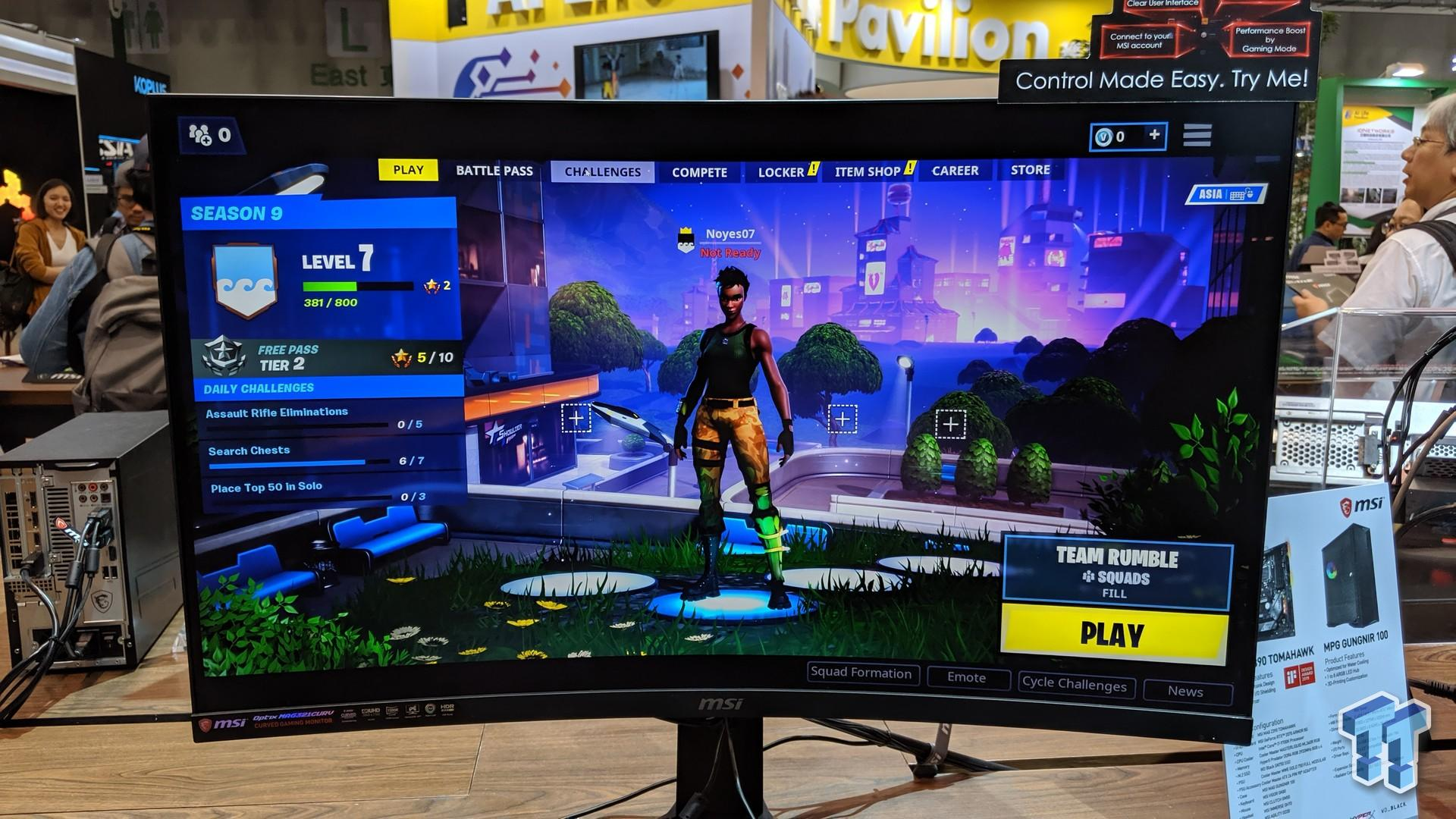 MSI teases triple-monitor rig, and so much more at Computex