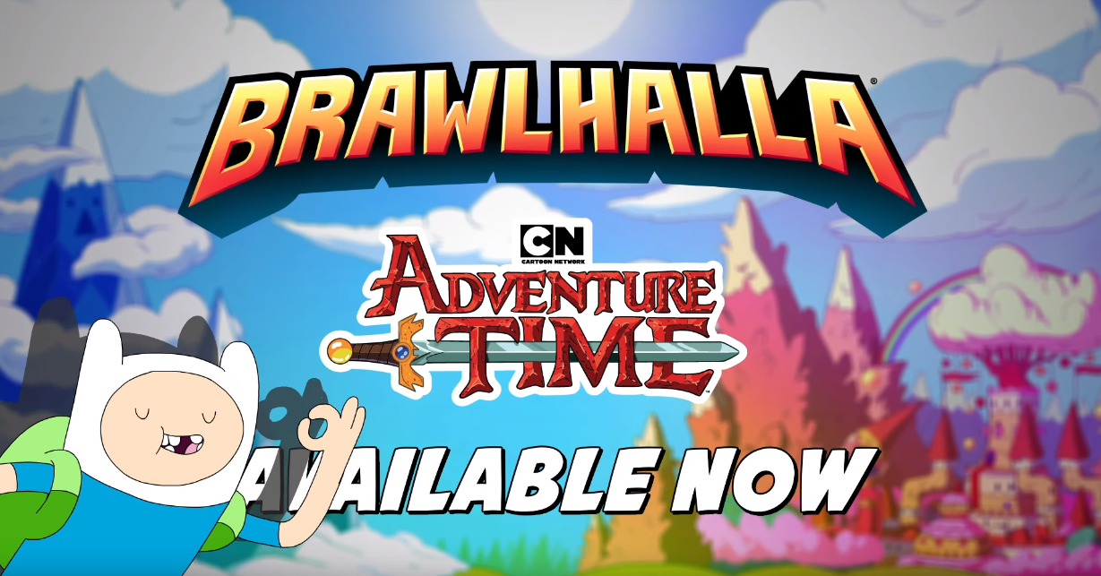 Adventure Time's Finn & Jake live on in Ubisoft's Brawlhalla