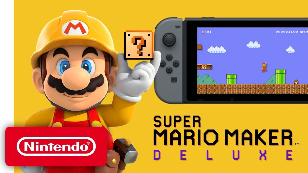 Mario Maker 2 turns the Switch into a 3DS