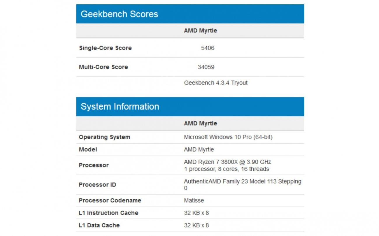 Amd Ryzen 7 3800x Bests Intel Core I9 9900k In New Benches Tweaktown