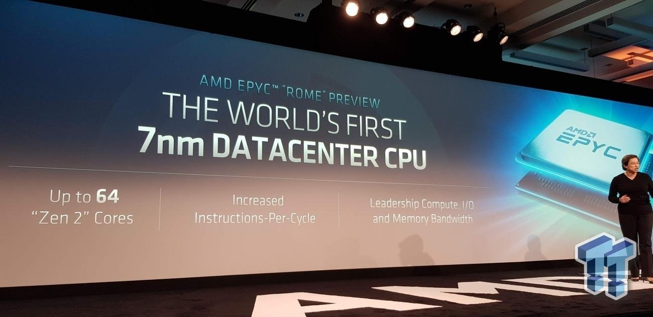 AMD EPYC 7742: 64C/128T for $7800, crushes Intel pricing