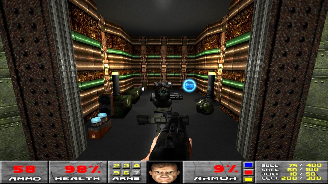 Doom gets reborn in Doom 3's engine, and it looks AWESOME