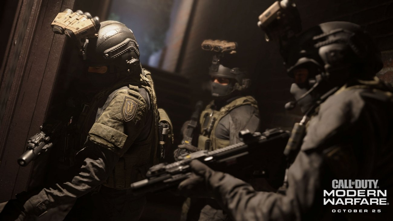 Modern Warfare supports mouse and keyboard on consoles